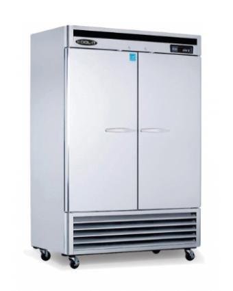 Réfrigérateur deux portes pleines 42,8 pi³ (démonstrateur)