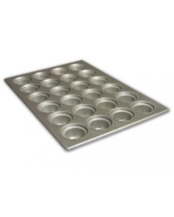 Moule à gros muffins en métal
