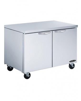 Réfrigérateur sous-comptoir deux portes 13,1 pi³ (endommagé)