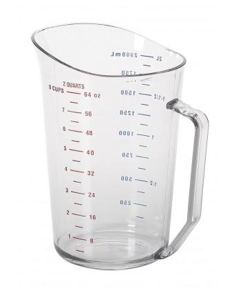 Tasse à mesurer en polycarbonate Camwear - 2 L