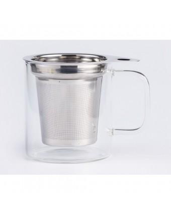 Tasse à thé 300 ml avec infuseur - Jasmine