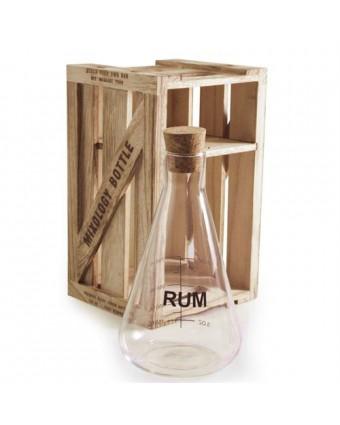 Décanteur à rhum en verre 25 oz - Mixology