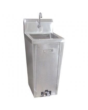 Évier sur pied pour le lavage des mains