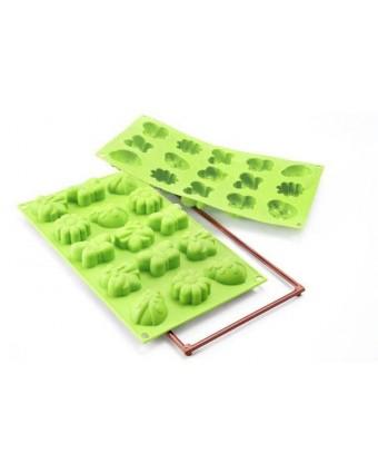 Moule en silicone à quinze cavités - Mini Springlife
