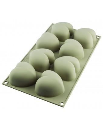 Moule en silicone à huit cavités - Cuoricino