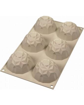 Moule en silicone à six cavités - Mini Gemma