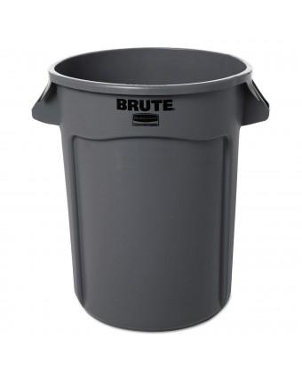 Poubelle Brute 121,1 L - Gris