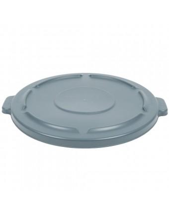 Couvercle pour poubelle Brute 44 gallons - Gris