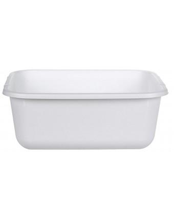 """Bac à vaisselle 14,5"""" x 12,5"""" x 5,75 - Blanc"""