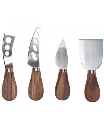 Ensemble de quatre couteaux à fromage