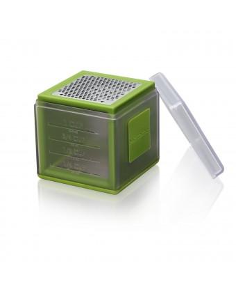 Cube râpe en acier inoxydable - Vert