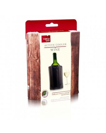 Refroidisseur à bouteille de vin Active Cooler - Bois mat