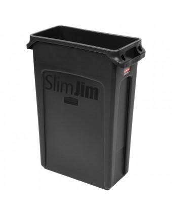 Poubelle Slim Jim 23 gallons – Noir