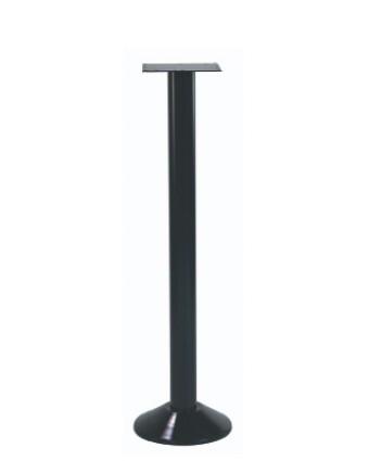 Base de table de bar - Noir