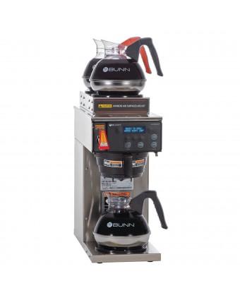 Cafetière automatique commerciale avec trois réchauds