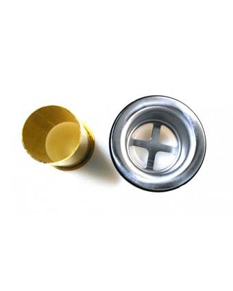 Crépine Drain en acier inoxydable 1.5''