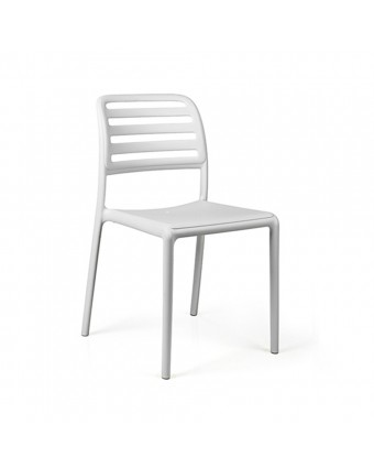 Chaise d'extérieur Costa Bistrot - Bianco