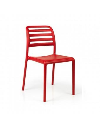 Chaise d'extérieur Costa Bistrot - Rosso
