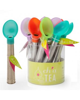 Bâton à infusion pour le thé – couleurs assorties