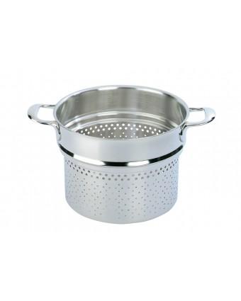 Panier de cuisson à pâte 24 cm en acier inoxydable - Industry