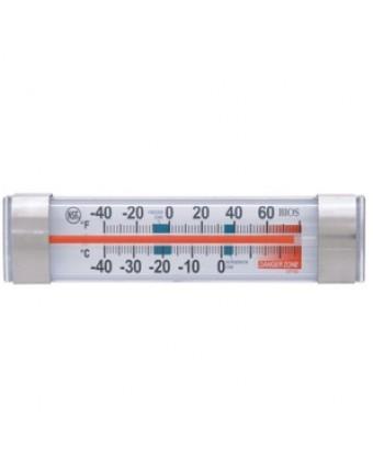 Thermomètre de réfrigérateur et congélateur horizontal avec logo Doyon Després