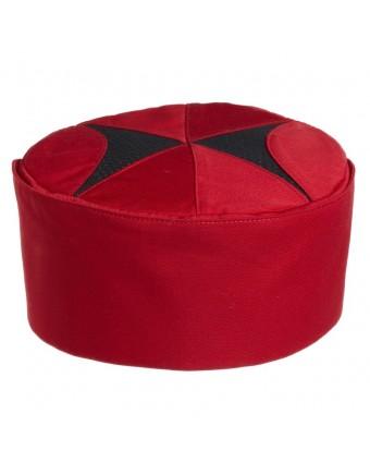 Chapeau de cuisto large Gusto - Cerise