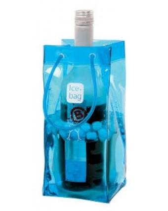 Sac pour bouteille Classic - Lagon bleu