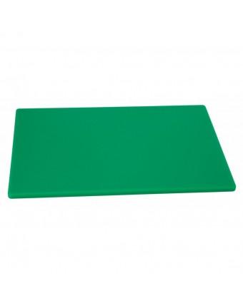 """Planche à découper en polyéthylène 20"""" x 15"""" - Vert"""