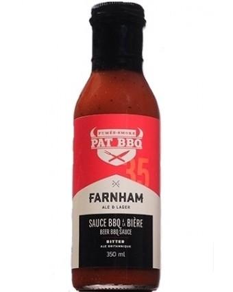 Sauce BBQ à la bière Farnham