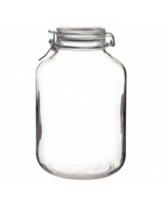 Récipient en verre étanche 165 oz