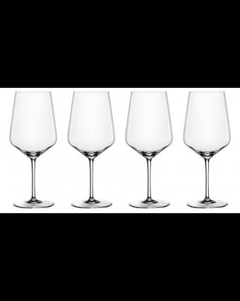 Ensemble de quatre verres à vin rouge 22,2 oz - Style