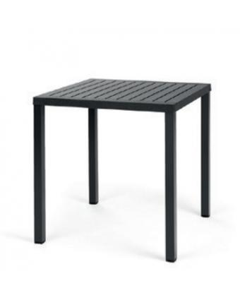 Table basse d'extérieur carrée Cube 28'' - Anthracite
