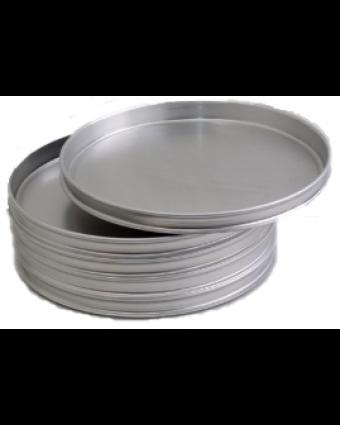 """Tôle à pizza ronde en aluminium 12"""""""