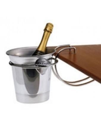 Support de table pour seau pour bouteille de vin ou de champagne