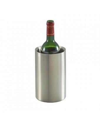 Refroidisseur à bouteille de vin isolant à double paroi