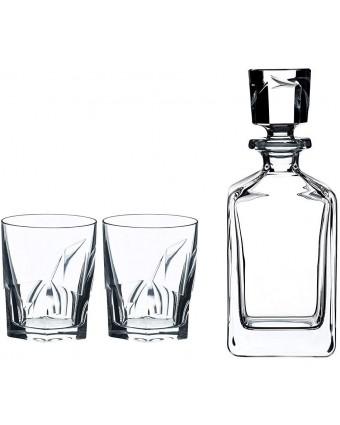Ensemble décanteur et verres à whisky - Louis
