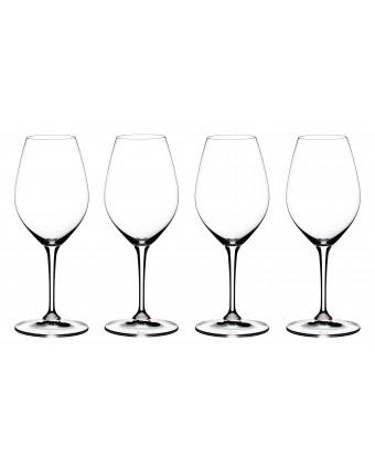 Ensemble de quatre verres à champagne 14,9 oz
