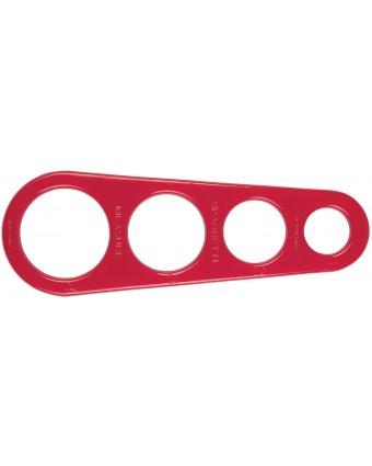 Outil de mesure à spaghetti en plastique