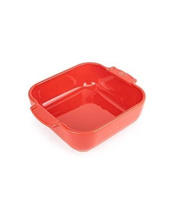 Plat de cuisson carré Appolia - Rouge