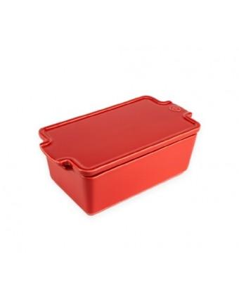 Terrine en céramique Appolia - Rouge