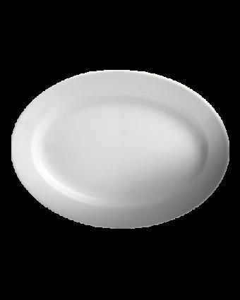 "Assiette ovale 10,5"" - Dynasty"