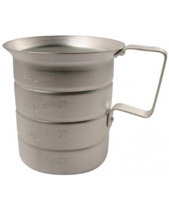 Tasse à mesurer en aluminium - 1 L