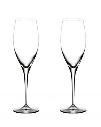 Ensemble de deux flûtes à champagne 11,2 oz - Heart to Heart