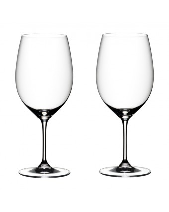 Ensemble de deux verres à vin rouge 21,5 oz – Vinum