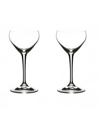Ensemble de deux verres à cocktail Nick & Nora 4 oz - Drink Specific