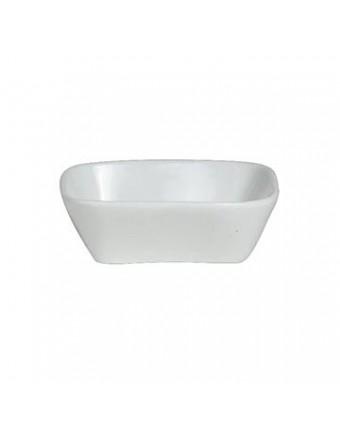Récipient à condiment carré en porcelaine 5,5 oz - À La Carte