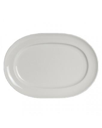 "Assiette de service ovale 14"" x 9,75"" - Stratford"