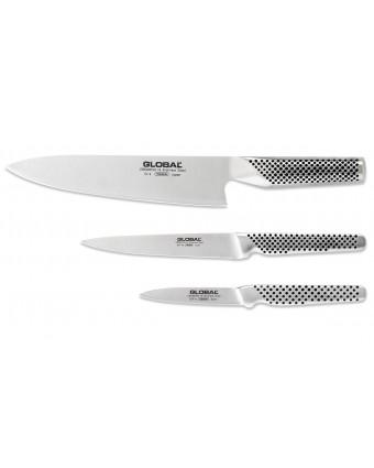 Ensemble de couteaux trois pièces