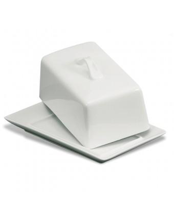 Beurrier en porcelaine 454 g