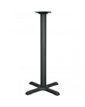 """Base de table de bar 22"""" - Noir"""